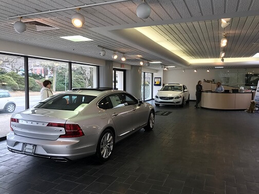 Prior Volvo Showroom